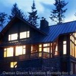 Luxury Lodging In Private Mountain Home Located At Kicking Horse Resort.